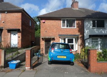 Thumbnail 2 bed semi-detached house to rent in Lyndworth Road, Birmingham