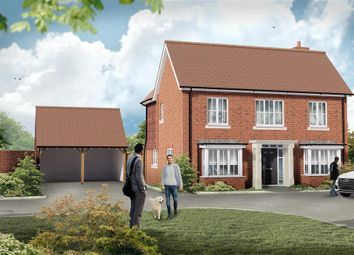 Thumbnail 4 bed detached house for sale in Nightingale Drive, Evabourne, Wouldham, Rochester, Kent