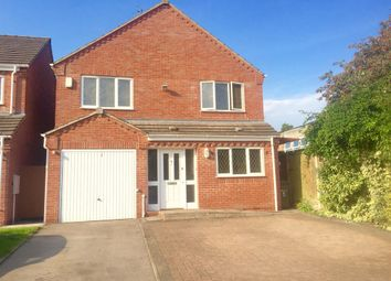 Thumbnail 4 bedroom detached house for sale in Orton Road, Earl Shilton, Leicester