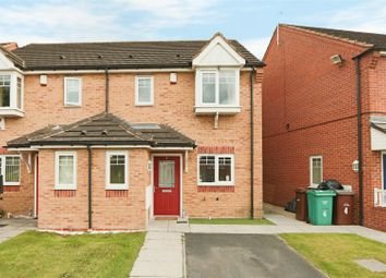 Thumbnail 3 bed semi-detached house for sale in Hathersage Close, Top Valley, Nottingham