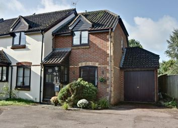 Thumbnail 2 bed end terrace house for sale in Smiths Mead, North Waltham, Basingstoke