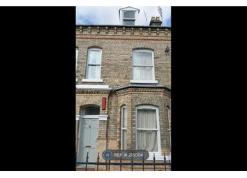 Thumbnail 6 bed terraced house to rent in Heslington Road, York