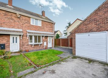 Thumbnail 2 bed semi-detached house for sale in Clare Hill, Blidworth, Mansfield