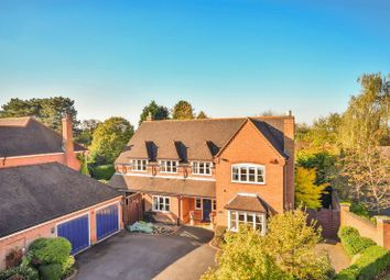 Thumbnail 5 bed detached house for sale in Roundhill, Kirby Muxloe, Leicester