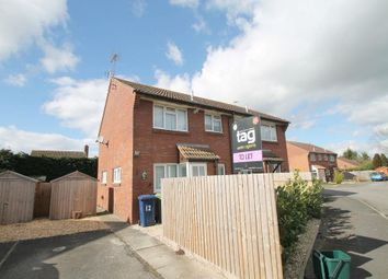 Thumbnail 1 bed semi-detached house to rent in Hughes Close, Northway, Tewkesbury