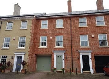 Thumbnail 3 bed town house for sale in Cedar Walk, Needham Market, Ipswich