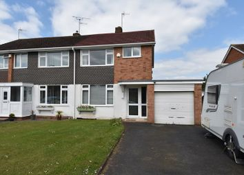 Thumbnail 3 bed semi-detached house for sale in Blackfriars Avenue, Droitwich