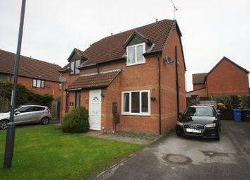 Thumbnail 2 bedroom semi-detached house to rent in Ivybridge Close, Oakwood, Derby