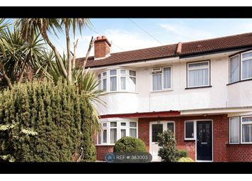 Thumbnail 3 bed terraced house to rent in Drake Road, London
