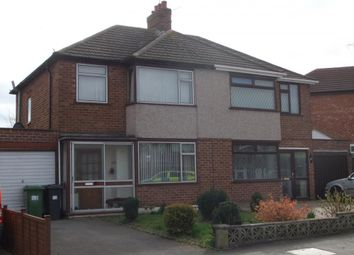 Thumbnail 3 bed semi-detached house to rent in Moorhill Road, Whitnash, Leamington Spa