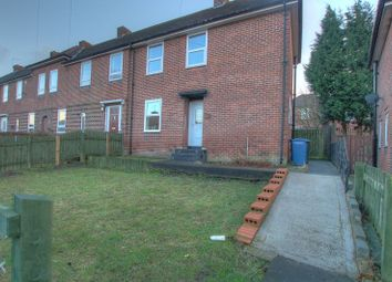 Thumbnail 3 bed end terrace house to rent in Arden Cresent, Newcastle Upon Tyne