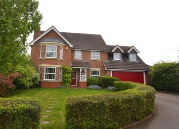 Thumbnail 4 bed detached house for sale in Skylark Close, Basingstoke, Hampshire