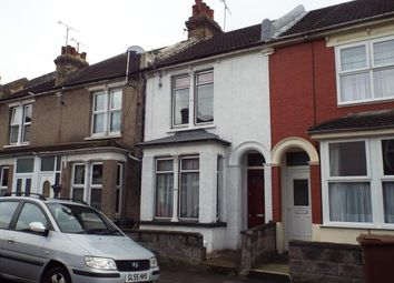 Thumbnail 3 bed terraced house for sale in Castle Avenue, Rochester, Kent