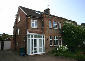 Thumbnail 4 bedroom semi-detached house to rent in Cissbury Ring South, Woodside Park, London