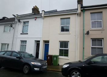 Thumbnail 2 bed terraced house to rent in Bromley Place, Stoke, Plymouth