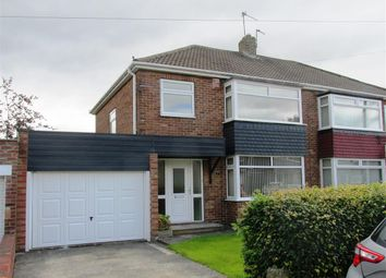 Thumbnail 3 bed semi-detached house for sale in Chapel House Road, Westerhope, Newcastle Upon Tyne