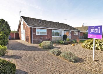 Thumbnail 2 bed semi-detached bungalow for sale in Westfield Road, Tickhill, Doncaster
