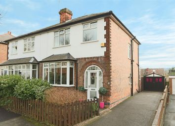 Thumbnail 3 bed semi-detached house for sale in Hereford Road, Woodthorpe, Nottingham