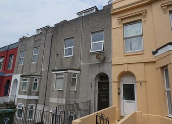 Thumbnail 3 bed maisonette for sale in North Road West, Plymouth