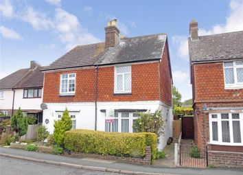 Thumbnail 3 bed semi-detached house for sale in Vicarage Lane, Horley, Surrey