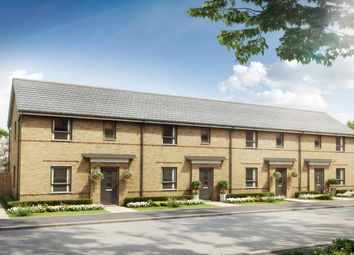 "Thumbnail 2 bedroom terraced house for sale in ""Amber"" at Southern Cross, Wixams, Bedford"