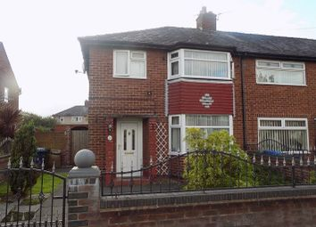 Thumbnail 3 bed semi-detached house to rent in Poplars Avenue, Warrington