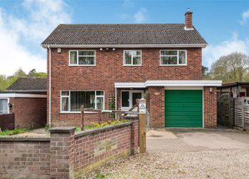 Thumbnail 4 bed detached house for sale in Station Road, Wymondham