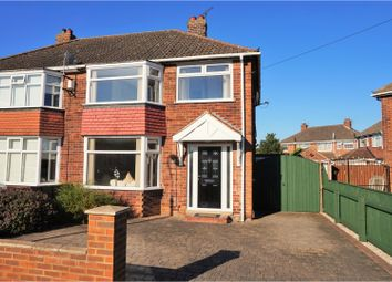 Thumbnail 3 bed semi-detached house for sale in Rosaire Place, Scartho