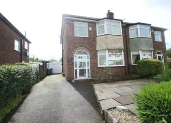 Thumbnail 3 bed semi-detached house to rent in Grosvenor Road, Sale