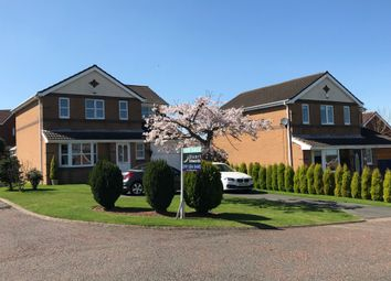 Thumbnail 4 bed detached house for sale in Redhouse Close, Sacriston, Durham