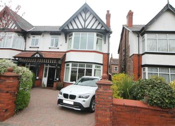 Thumbnail 4 bed semi-detached house for sale in Princes Avenue, Crosby, Liverpool, Merseyside