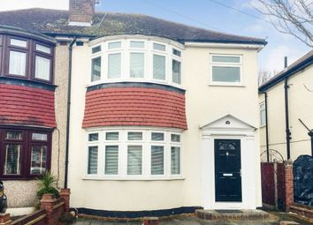 Thumbnail 3 bed semi-detached house to rent in Penrith Road, Hainault, Ilford, Essex