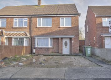 Thumbnail 3 bed semi-detached house for sale in Westlea, Bedlington