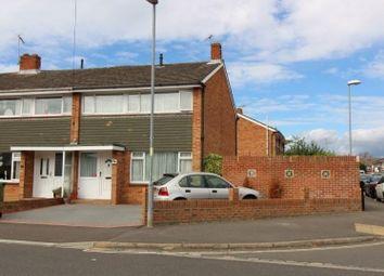 Thumbnail 3 bed end terrace house for sale in Lower Drayton Lane, Drayton, Portsmouth