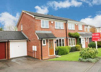 Thumbnail 3 bed semi-detached house for sale in Laburnum Close, Hollywood, Birmingham