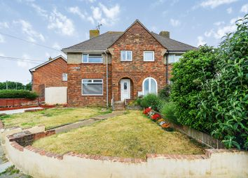 Thumbnail 3 bed semi-detached house for sale in Burwash Road, Hove