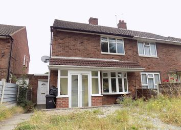 Thumbnail 2 bed semi-detached house to rent in Wells Road, Brierley Hill