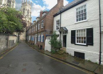 Thumbnail 4 bedroom terraced house to rent in Precentors Court, York