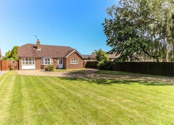 Thumbnail 3 bed detached bungalow for sale in Cranesgate North, Whaplode St Catherines, Spalding, Lincolnshire