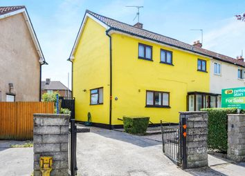 Thumbnail 3 bedroom semi-detached house for sale in Keyston Road, Fairwater, Cardiff