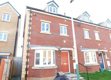 Thumbnail 4 bed end terrace house for sale in Meadowland Close, Caerphilly