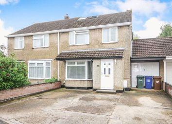 Thumbnail 4 bed semi-detached house for sale in Waverley Avenue, Kidlington