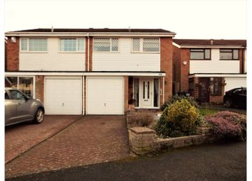 Thumbnail 3 bedroom semi-detached house for sale in Ashdale Drive, Birmingham