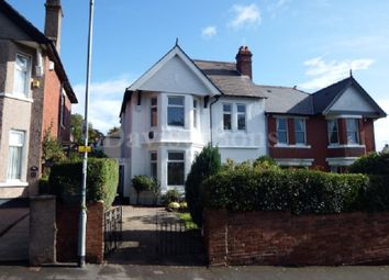 Thumbnail 3 bed semi-detached house for sale in Dewsland Park Road, Off Stow Hill, Newport.