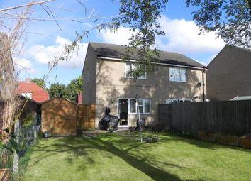Thumbnail 2 bedroom semi-detached house for sale in Burley Crescent, Oakham, Rutland