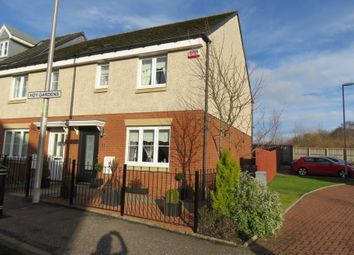 Thumbnail 1 bed end terrace house for sale in Hoy Gardens, Motherwell