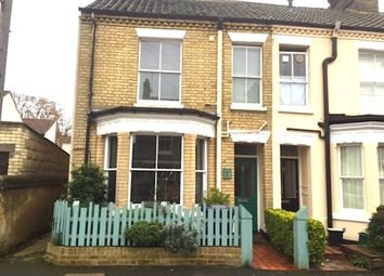 Thumbnail 3 bedroom end terrace house for sale in Trix Road, Norwich