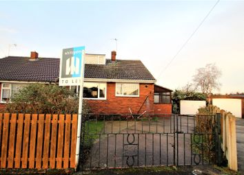 Thumbnail 2 bedroom bungalow to rent in Whin Close, Hemsworth, Pontefract, West Yorkshire