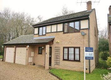 Thumbnail 4 bed detached house to rent in Fleet Close, Buckingham