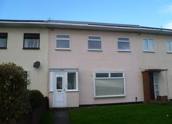 Thumbnail 3 bed terraced house to rent in Bronte Grove, The Gaer, Newport